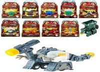 Dinotrux Die-Cast Metal Small Figure Car Tank Dinosaur Dino Jeep Race Play 3+