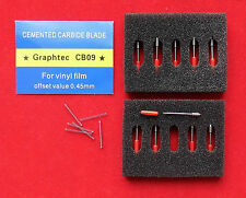 10 pcs 45 degree Blades for CB09 Graphtec Blade Graphtec Cutting Plotter Blade