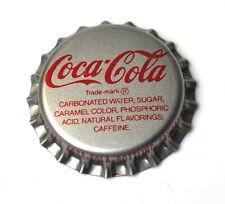 Coca Cola Coke tapita estados unidos 1960er Bottle Cap fish tail logotipo