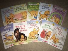Lot of 10 Biscuit Children Picture Books by I Can Read Books, NEW!