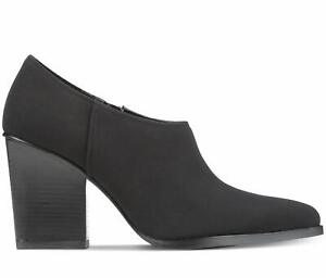 Donald J Pliner Women's Verie Pointed Toe Ankle Fashion Boots, Black, Size 10M