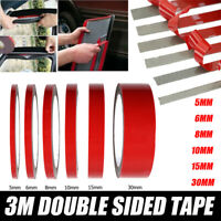 1 Roll Strong Permanent Double Sided Acrylic Foam Adhesive Tape Mounting Tape