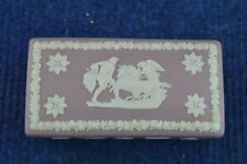 Unboxed British Wedgwood Pottery Trinket Boxes