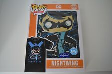 Funko Pop Tees #111 NIGHTWING T-Shirt Size M DC/Marvel/Avengers FREE SHIPPING!!