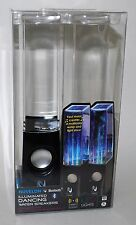 NUVELON ILLUMINATED DANCING WATER SPEAKERS WIRELESS BLUETOOTH LED LIGHTS USB