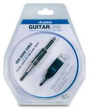 Alesis GUITARLINK 16Bit Usb Guitar Interface Cable W/ Built In A/D Converter New