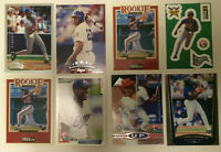 Vladimir Guerrero LOT of 8 rookies inserts base NM/Mint RC HOF Topps Upper Deck