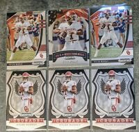 2020 Kyler Murray Crusade #65 & All American #5 & Base Panini Prizm Draft Picks
