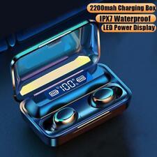 F9-9 TWS 5.0 Bluetooth-Kopfhörer Wasserdichte drahtlose E8R2