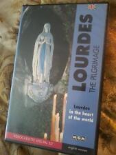 LOURDES The Pilgrimage VHS PAL UK Video cassette tape POST FREE