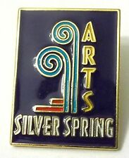 Pin Spilla Arts Silver Spring