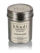 Khadi Natural Sandal & Almond Face Pack For Remove Dead Skin Cells - 50 gm