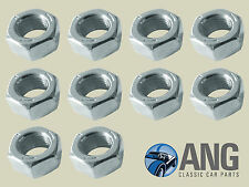 """7/16"""" UNF PLAIN BZP NUTS (PACK OF 10)"""