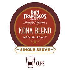 Single Serve Coffee Pods, Kona Blend Medium Roast, Compatible with Keurig K-cup