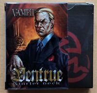 Vampire the Eternal Struggle Clan Ventrue Starter Deck Opened Perfect