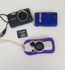 Camera Samsung SL600 Fujifilm Finepix Z Disney Digital Lot of 3 Work/Props