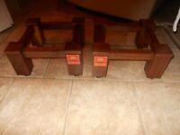 Custom JBL Studio MONITOR 4310 4311 4312 Solid Walnut Speaker Stands