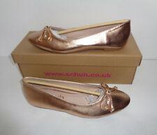 various sizes BNIB Schuh ladies velvet black slip on ballerina shoes