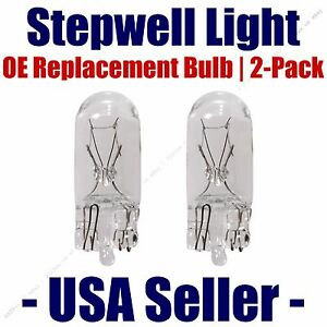 Stepwell Bulb 2pk OE Replacement Fits - Listed Nissan Vehicles - 158