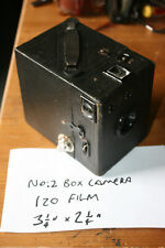 Coronet No. 2 Box Camera, 120 Roll Film Box Camera (Uses 120 film, 6x8cm)