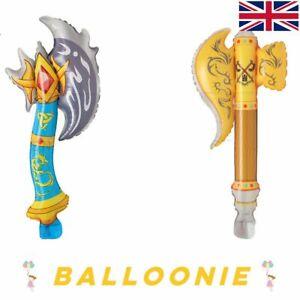 Inflatable Axe Fun Kids Prop Balloon Halloween Costume Accessory Sword Dragon