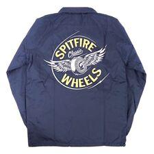 Spitfire Wheels Flying Classic Coach Skateboard Jacket Navy/Yellow Xl
