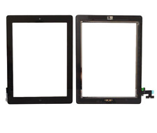 Black Screen For iPad 2 Touch Digitizer Replacement Home Button Adhesive