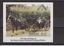 THE LIFE & TIMES OF THE QUEEN MOTHER STAMP SHEET BAHAMAS SG MS716