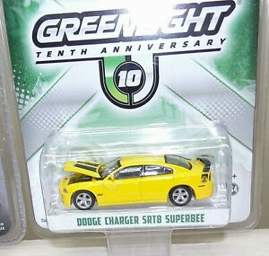 Greenlight 10th Anniversary Dodge Charger SRT8 Superbee