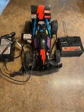 Rc racing car with battery and controller