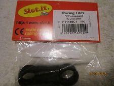 SLOT-IT SLOT CAR RACING TIRES C1 COMPOUND 17.2X9.5MM PT1159C1