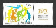 Frankreich Mi.Nr. 6983** (2018) postfrisch/110 Jahre Sportverband der PTT