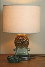 Original Hawaiian BIG pineapple vintage table lamp original bespoke one ofa kind