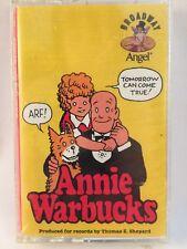 Annie Warbucks Original Cast Recording Album Cassette Tape NEW SEALED