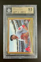 2014 MOOKIE BETTS TOPPS UPDATE GOLD #US301 - BGS 9.5 ROOKIE CARD DODGERS