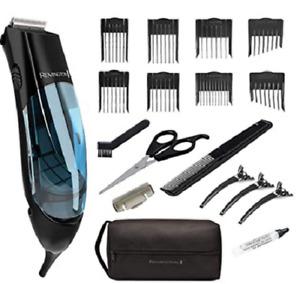 Remington HKVAC2000A Vacuum Haircut Kit 18 pc Kit