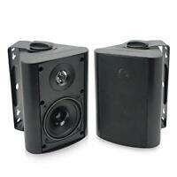 4 inches Outdoor Indoor Bluetooth Speakers Weatherproof Wall Mount