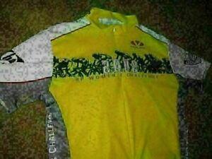 VINAGE Short Sleeve Cycling Race Shirt Jersey Voler 2002 Hp Women Challenge  6A4