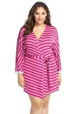 New! Woman's Pink Plus Size Honeydew Intimates 'All American' Robe Size 2X 9900