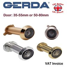 Adjustable Security Door Viewer Angle 200 Spy Peep Hole 4 Colours Door 35-80mm