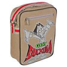 Count Duckula Flight Bag. Cartoon Holiday Travel Shoulder Satchel