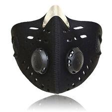 Maschera con Filtro in Neoprene Antipolvere per Corsa Moto Bicicletta Ciclismo