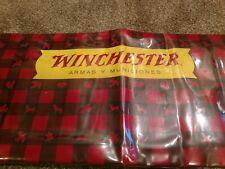 RARE 1961 Original Winchester Dealer Store Display Table Mat  Firearm Spanish