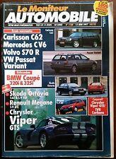 b)Le moniteur Automobile 12/06/1997; Carlsson C62/ Volvo S70R/ Passat Break