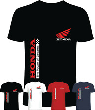 Tshirt uomo maglietta stile moto honda cotone 100% estate 2021