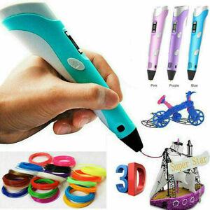 3D-Druckstift 3D Stereoscopic Printing Pen Für Kinder & Erwachsene Geeignet