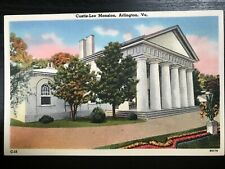 Vintage Postcard>1930-1945>Custis-Lee Mansiion>Arlington>Virginia