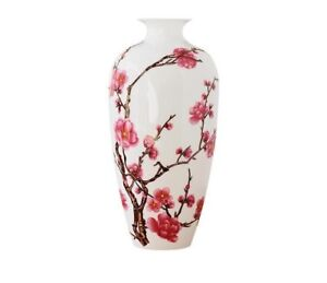 Porcelain Ceramics Decorative Vases Floral Pattern Chinese Style Home Room Decor
