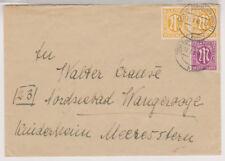 BIZONE/Le-Post, Mi. 13az (2), 23bz, kaldenkirchen/rheinl., 12.7.46