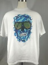 Ecko Unltd Mens Shirt Size 3XB Black Short Sleeve All City Skull TShirt